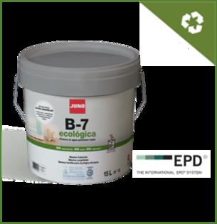 B-7 ECOLOGICAL - ekoloģiska krāsa iekšdarbiem