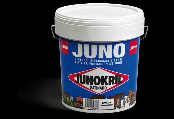 JUNOKRIL SATIN - pusmatēta fasādes krāsa